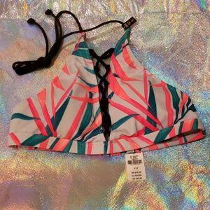 VS Pink swim top size S
